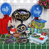 NFL St Louis Rams Birthday Party Kit  96 Piece