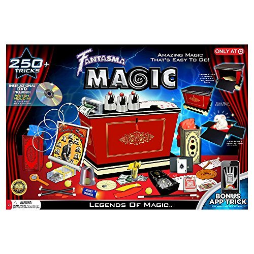 Fantasma Legends of Magic 250+ Tricks kit with Instructional DVD and Bonus App Trick