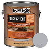 INSL-X TS331009A-01 Tough Shield Floor and Patio Coating Paint, 1 Gallon, Light Gray (Color: Light Gray, Tamaño: 1 Gallon)