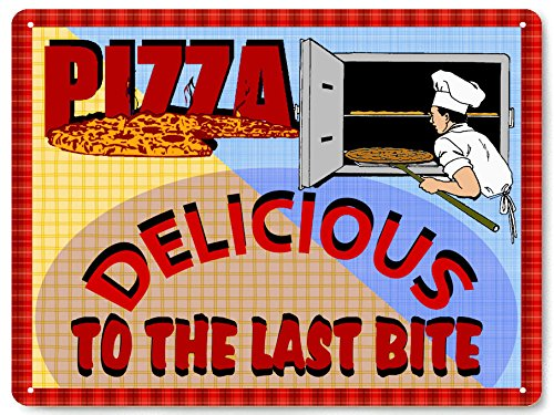Pizza Parlor metal sign / vintage style restaurant deli diner wall decor 073 (Pizza Pasta Sign compare prices)