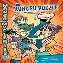 #4 The Kung Fu Puzzle: A Mystery with Time and Temperature Audiobook by Melinda Thielbar Narrated by  Book Buddy Digital Media