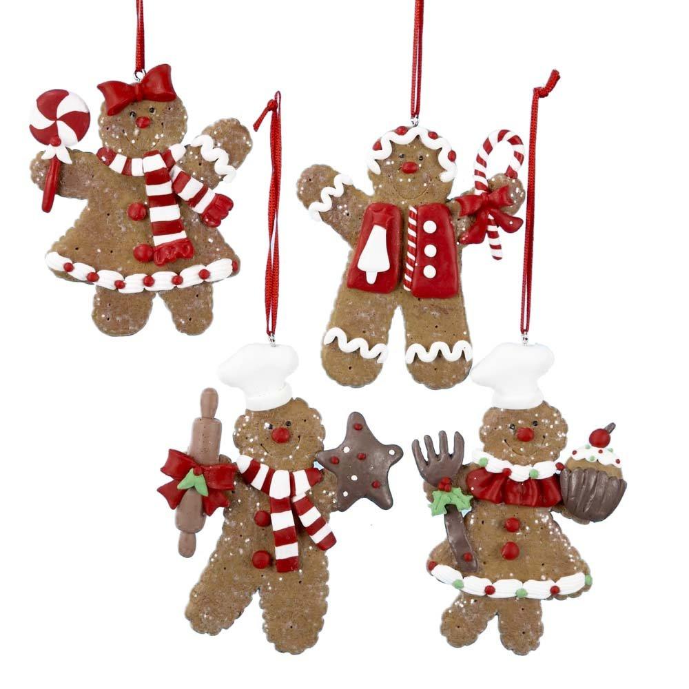 Gingerbread Christmas Ornament Sets | Christmas Wikii