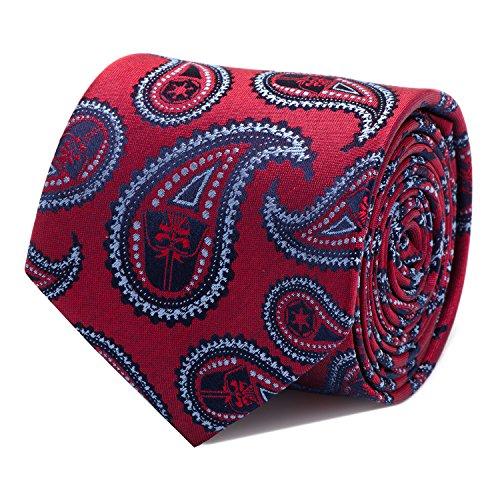 Star Wars Darth Vader Red Paisley Tie