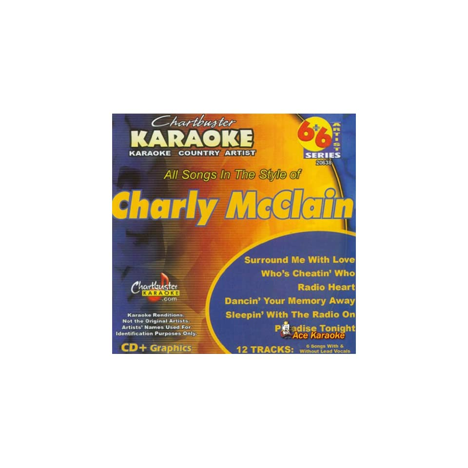 Chartbuster Karaoke 6X6 CDG CB20638 Charly McClain on PopScreen