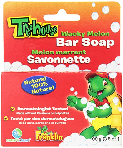 Treehouse By Natureclean Bar Soap, Wacky Melon, 99 Gram (Pack of 12) - 1