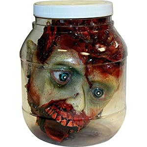 Head in a Jar prop