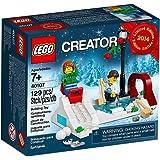 LEGO 2014 Holiday Winter Skating Scene 40107