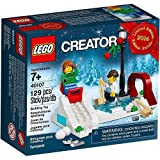 LEGO 2014 Holiday Winter Skating Scene 40107
