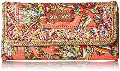 sakroots-womens-artist-circle-trifold-wallet-coral-tree-house