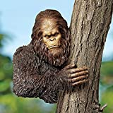 Design Toscano DB583078 Bigfoot, the Bashful Yeti Tree Sculpture: Over 11