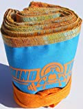 Wrist Strength Wraps for Weightlifting - Excellent for Crossfit and Olympic Weightlifting - Teal and Orange