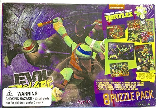 Nickelodeon Cardinal Teenage Mutant Ninja Turtles Puzzle ...