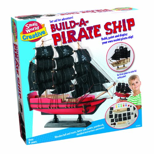 Small World Toys Creative - Build A Pirate Ship front-502644