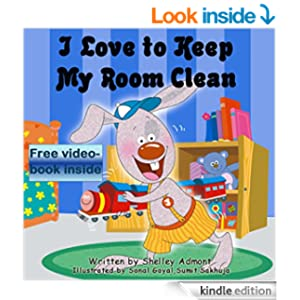 Children's book: I Love to Keep My Room Clean: Children's book for ages 3-8 (Bedtime stories children's books collection 6)