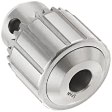 "Llambrich CY Plain Bearing Medium Duty Taper Mount CK4 Keyed Drill Chuck, 1JT Mount, 1-1/4"" Chuck Diameter, 1/64""-1/4"" Capacity"