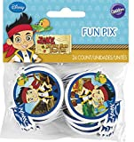 Wilton Industries 2113-2375 Disney Jake and The Never Land Pirates Fun Pix Cupcake Decor