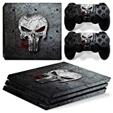 FriendlyTomato PS4 Pro Console and DualShock 4 Controller Skin Set - Super Hero - PlayStation 4 Pro Vinyl