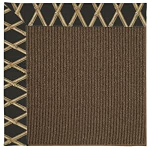 Amazon Bamboo Coal Indoor Outdoor Solid rug by Capel