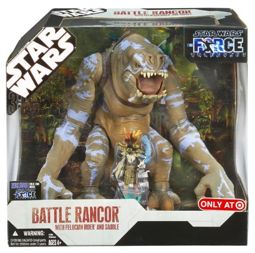 Star Wars FU JUNGLE RANCOR w/ Felucian Rider
