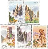 norte-Corea 1447-1451 (completa.edición.) matasellado 1975 Diamantberge (sellos para los coleccionistas)
