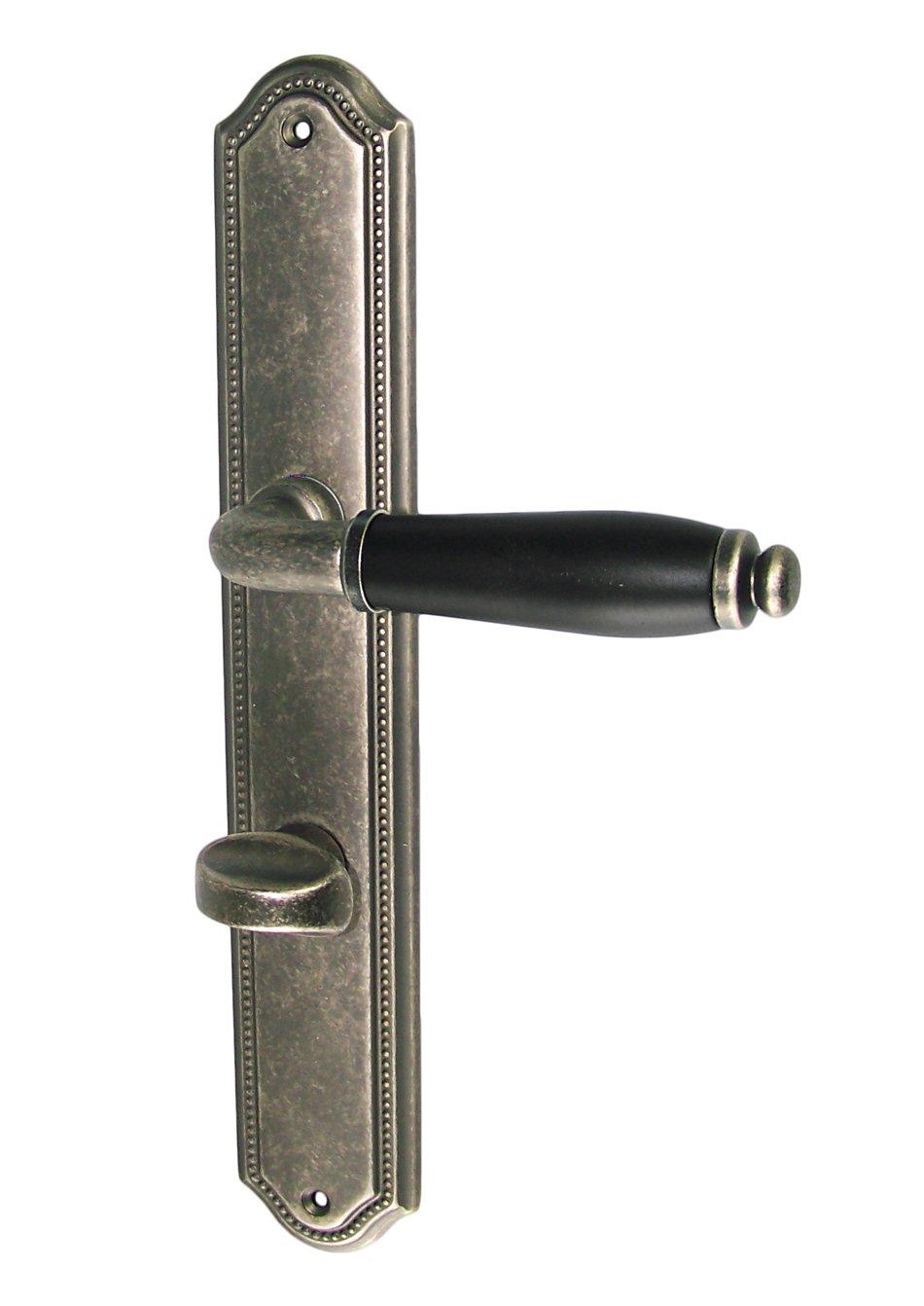 Türbeschlag MI5078 LS Antik  Schwarz WC Drückergarnitur Türdrücker Türbeschläge  BaumarktRezension