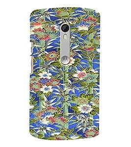 PrintVisa Flower Pattern 3D Hard Polycarbonate Designer Back Case Cover for Motorola MotoXStyle