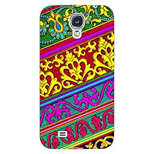 Jugaaduu Floral Pattern Back Cover Case For Samsung Galaxy S4 I9500