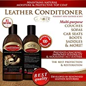 Leather Conditioner And Protector For Furniture Purses