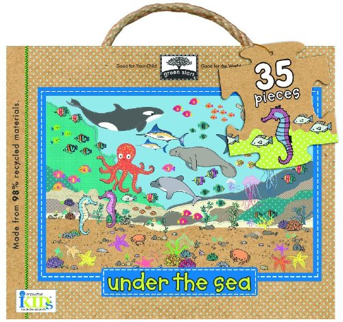 Green Start Floor Puzzle: Under the Sea (Green Start Giant Floor Puzzles)