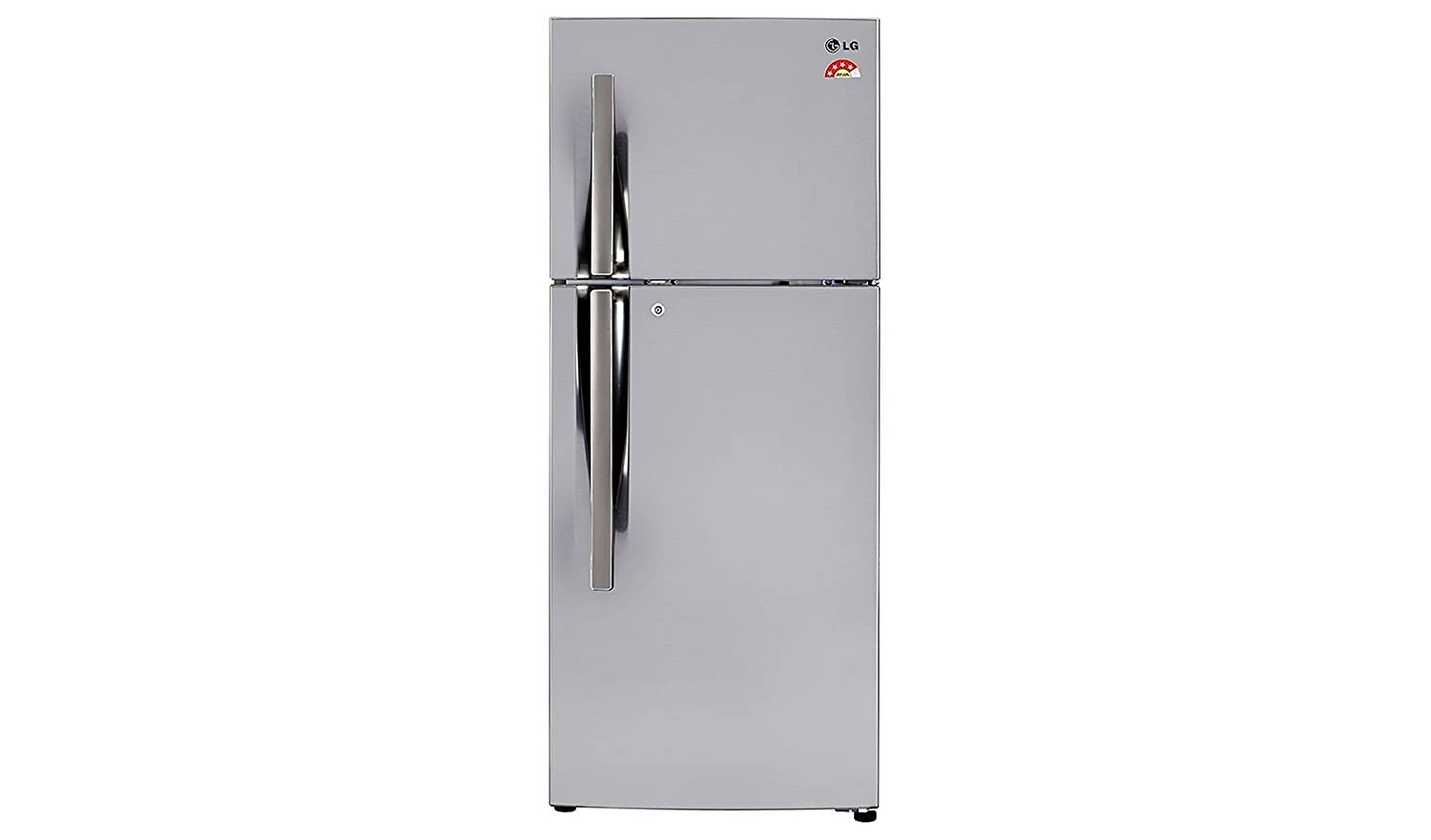 LG GL-I292RPZL Frost-free Double-door Refrigerator (260 Ltrs, 4 Star Rating, Shiny Steel) By Amazon @ Rs.24,766