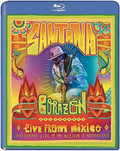 Santana - Corazon-Live From Mexico (2 Blu-Ray)