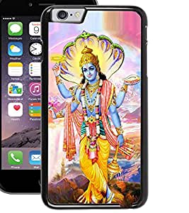 ColourCraft Lord Vishnu Design Back Case Cover for APPLE IPHONE 6