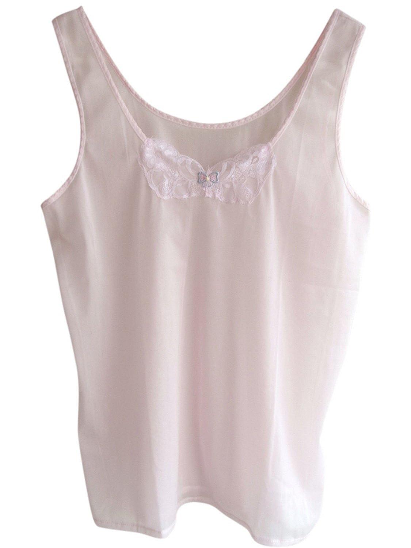 Damen Nylon Unterwäsche rosa LBLNPK#1 Lot 3 pcs Pink Blouse Tank Top Vest Lingerie online kaufen