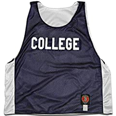 College Lacrosse Reversible Pinnie