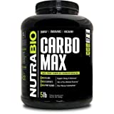 NutraBio CarboMax (5 Pounds) – Unflavored Carbohydrate Powder (Tamaño: 5 Pounds)