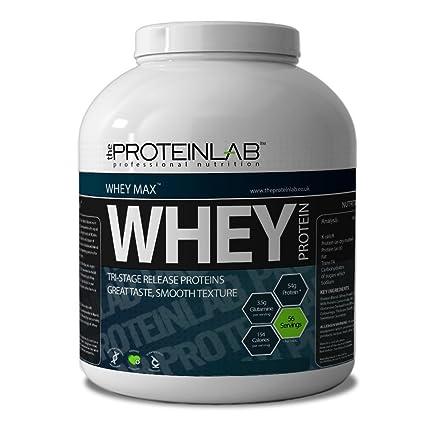 The Protein Labor Whey Proteinpulver 40 G/908g/2,25 Kg/4kg - Schokolade, 2.25kg