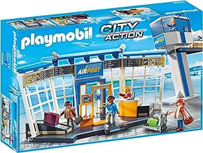 PLAYMOBIL 5338 - City-Flughafen mit Tower