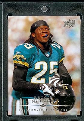 2008 Upper Deck #90???? Reggie Nelson - Jacksonville Jaguars - Football Cards in a Protec Display Case!