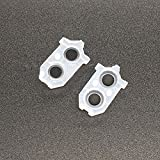 1 Pair Silicone Conductive L1 R1 L2 R2 Buttons Rubber Pads for Sony Playstation 4 PS4 1200 Replacement