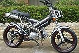 SaCHSBIKES マダス125 MadAss125 ザックスバイク 125ccバイク 二輪 ガンメタ