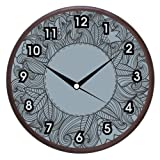 Wall Clocks - Printland Grey Wall Clock
