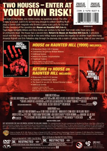 house on haunted hill return to house on haunted hill