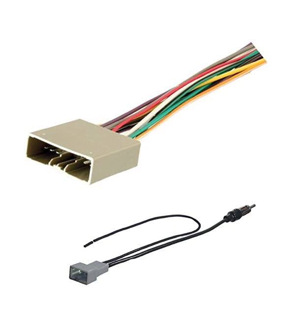 Stereo Radio Antenna Adapter for After Market Installation Fits Many Models