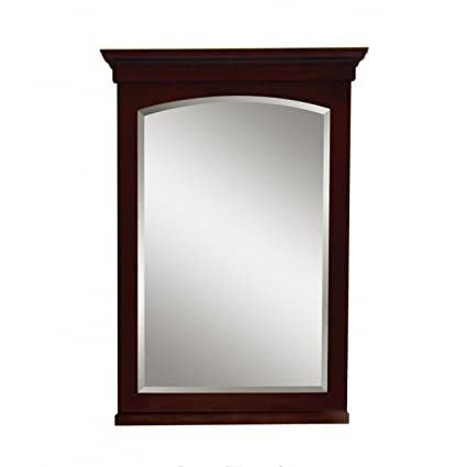 Sagehill Designs AL2129MR Allure 20-Inch Mirror Soft Burgandy