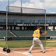 SSG BSN Pro Base Fungo Screen 10 x 10 ft. by BSN