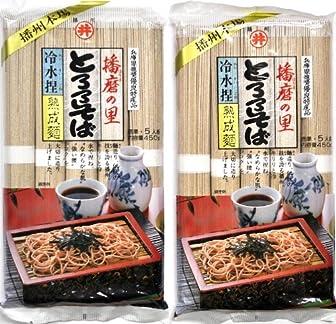 東亜食品 播磨の里とろろそば 450g×2袋