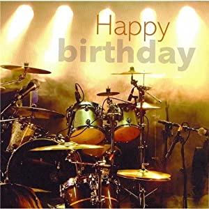 happy birthday drum