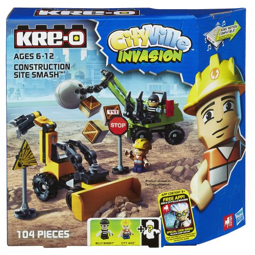 KRE-O CityVille Invasion Construction Site Smash Set (A4912)