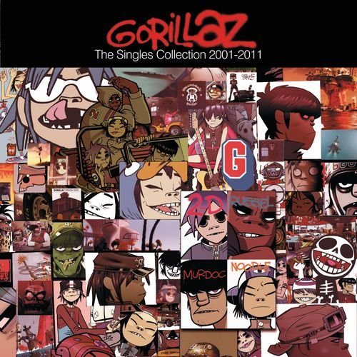 Gorillaz - Gorillaz  The Singles Collection 2001 2011 - Zortam Music
