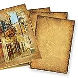 50 Blatt CASANOVA Briefpapier - Motivpapier 90g DIN A4 beidseitig